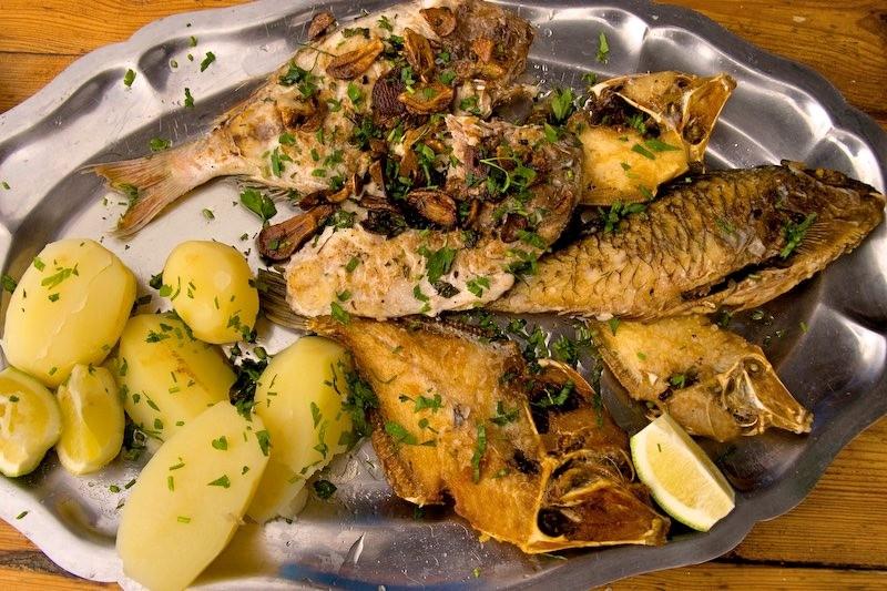 Канарские рыбное блюдо