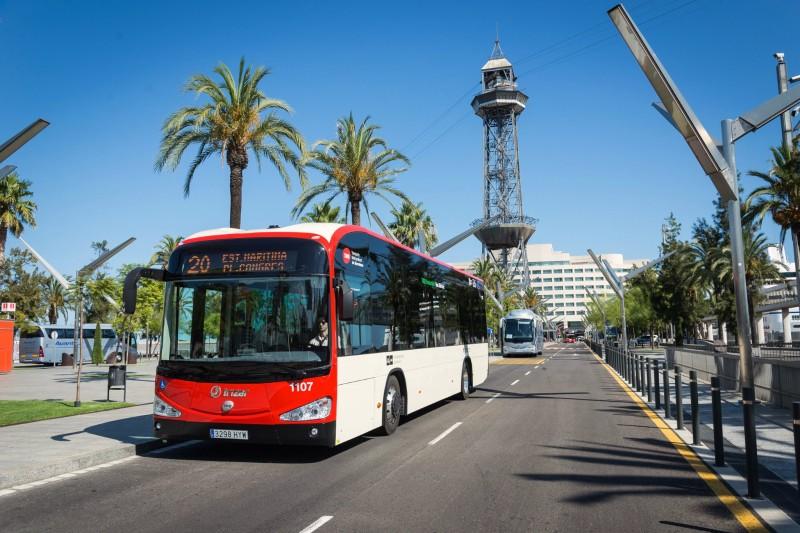 Автобус № 20 следующий с Pl. Congrés