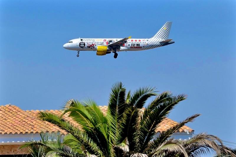 Самолетом на Ибицу