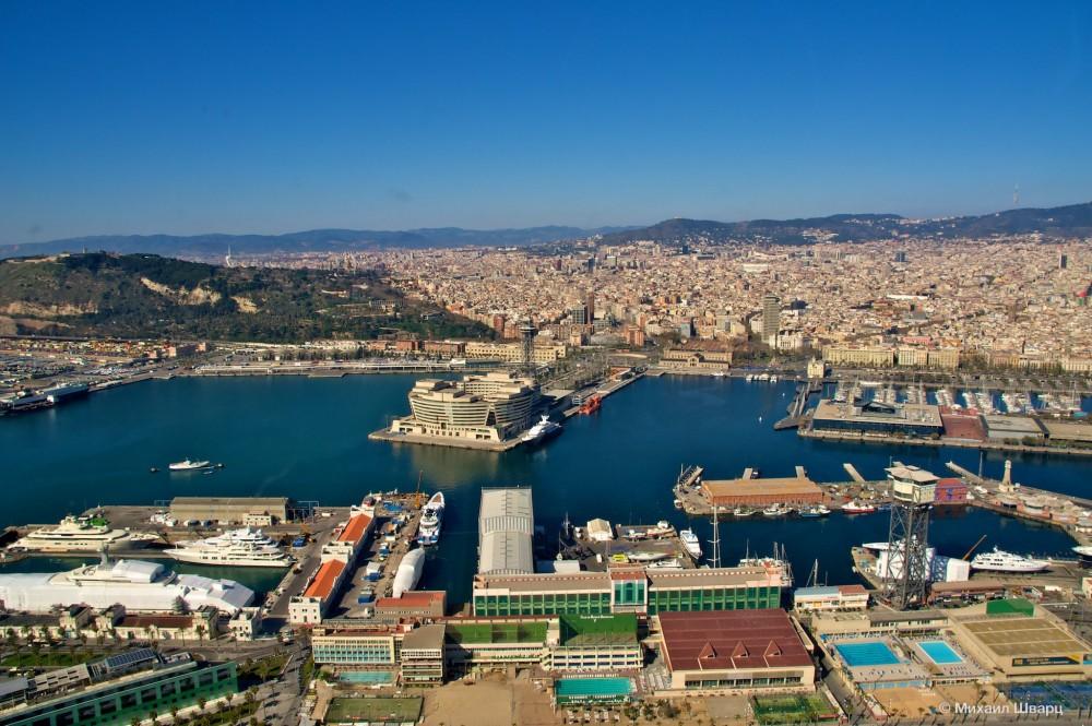 Морской порт Барселоны