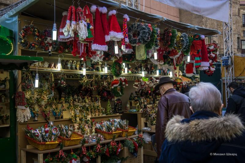 Рождественские шапки