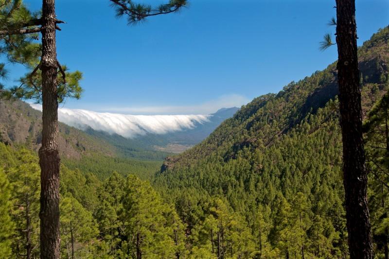 Национальный парк La Caldera de Taburiente