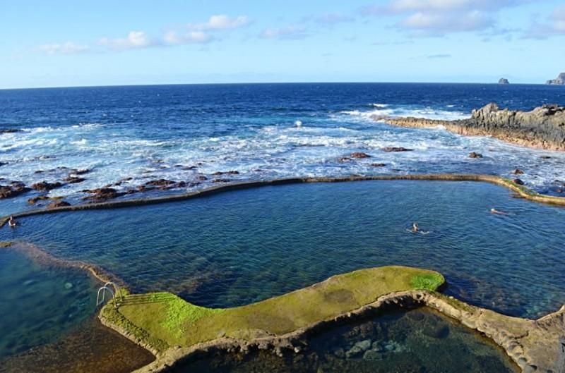 Природный бассейн в долине Эль-Гольфо