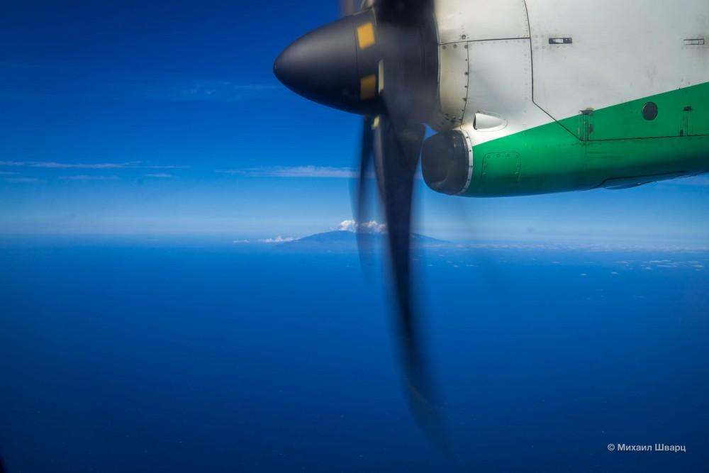 Пролетаем остров Ла-ПальмаПролетаем остров Ла-Пальма