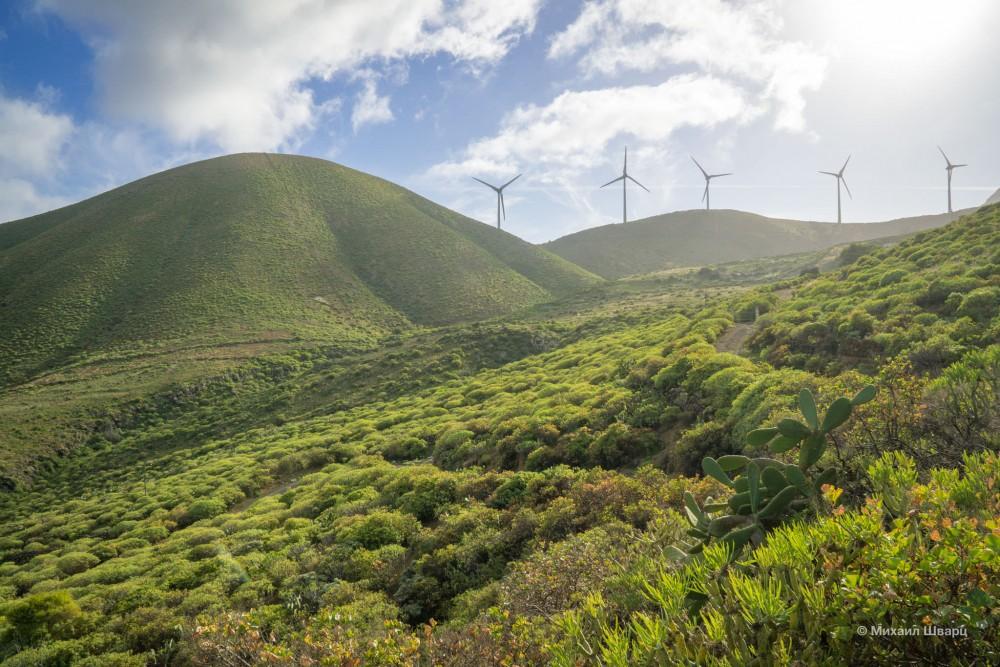 Возобновляемая энергия на острове