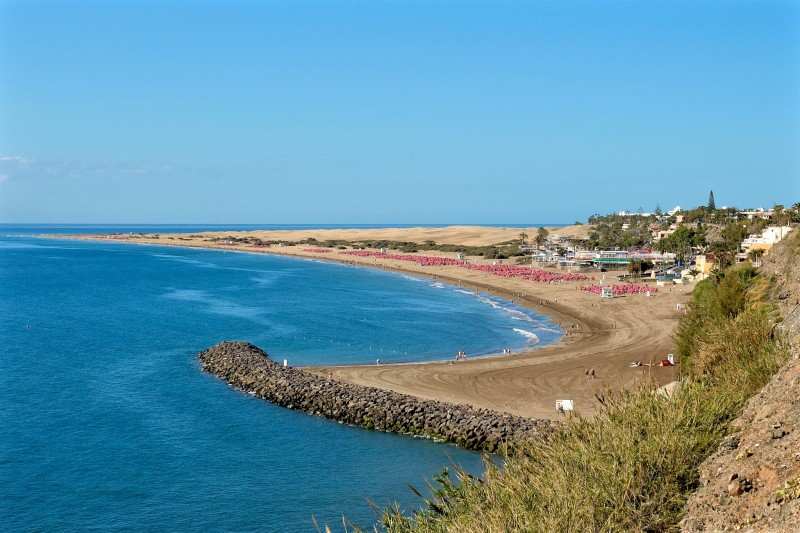 Пляж Плайя Инглес