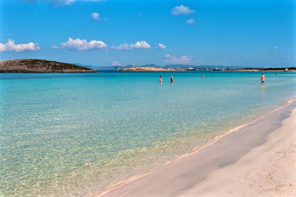 Пляж Illetes на острове Форментера