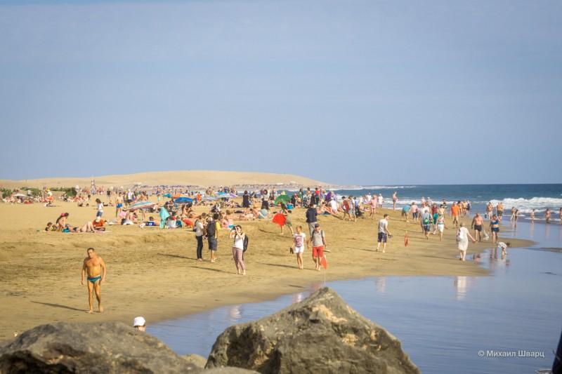 Шикарные дюны, огромный пляж и великолепный океан!