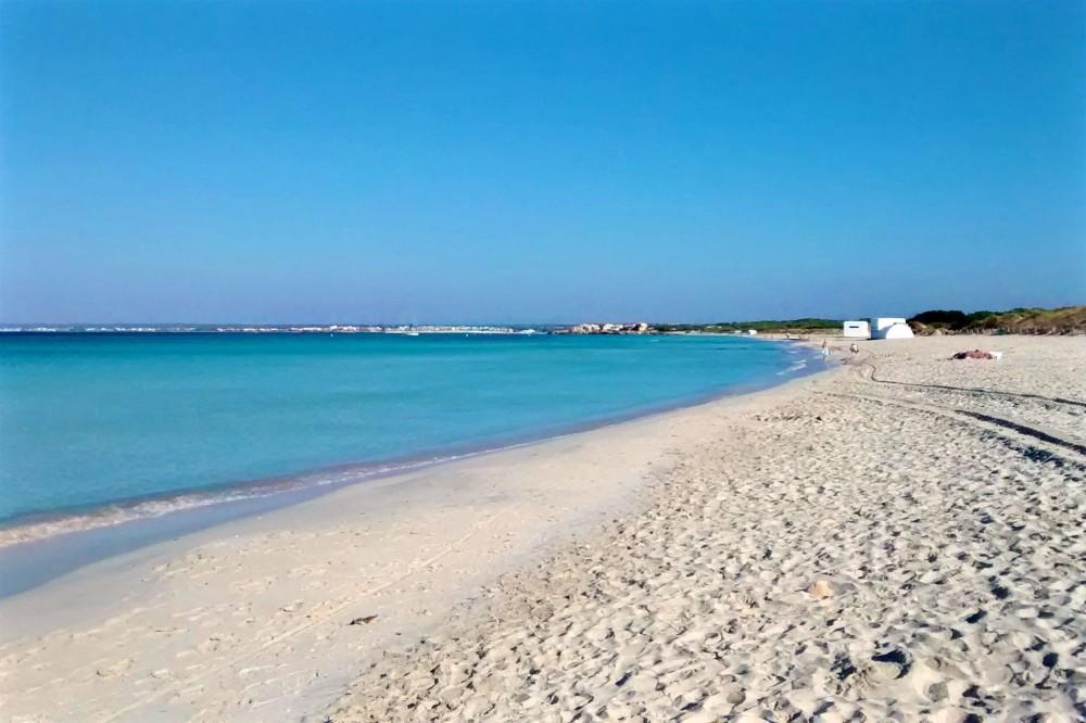 Пляж Эс Тренк (фото: dario bargetzi)