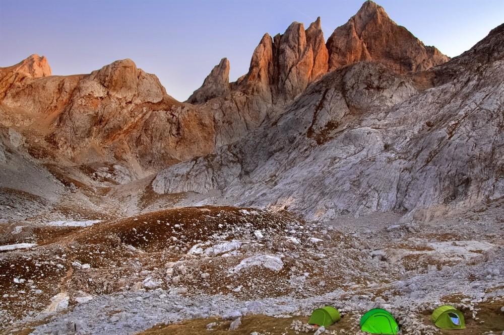 Закат на Refugio de los Cabrones – одном из самых труднодоступных районов парка (фото: Siju)