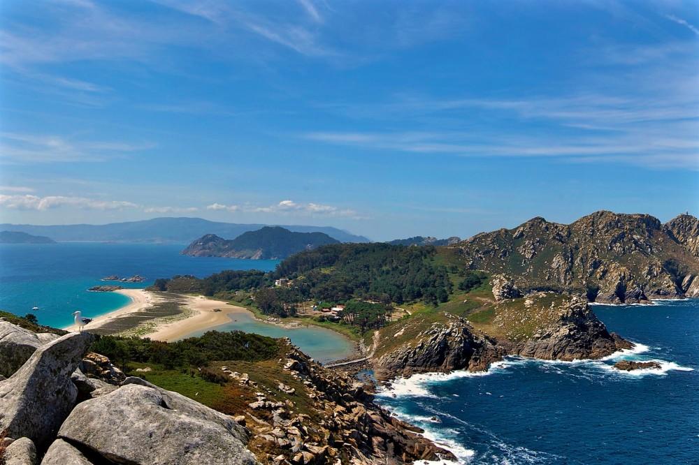 Острова группы Cíes и пляж Родас (фото:  José Mª Alvarez Soliño)