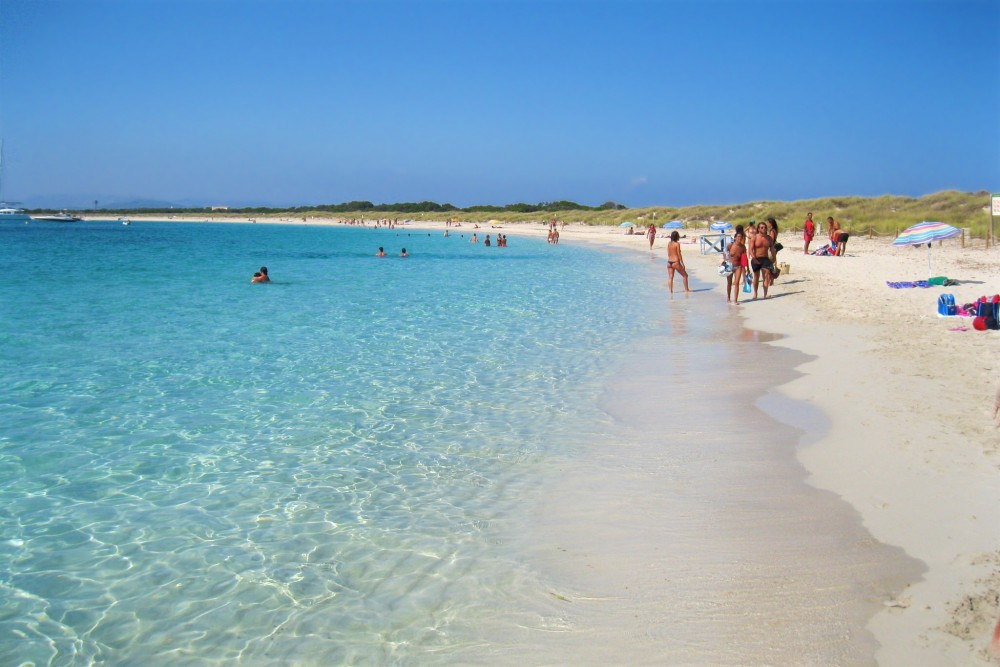 Пляж острова Эспальмадор (фото: XA10)