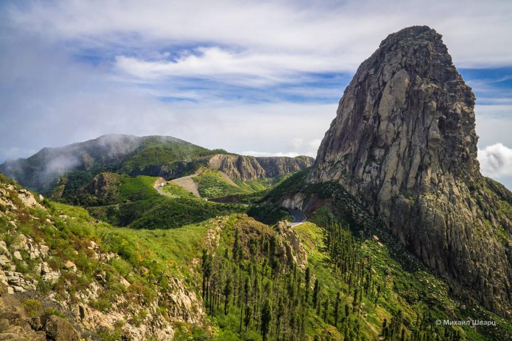 Гора Роке Агандо (Roque de Agando)