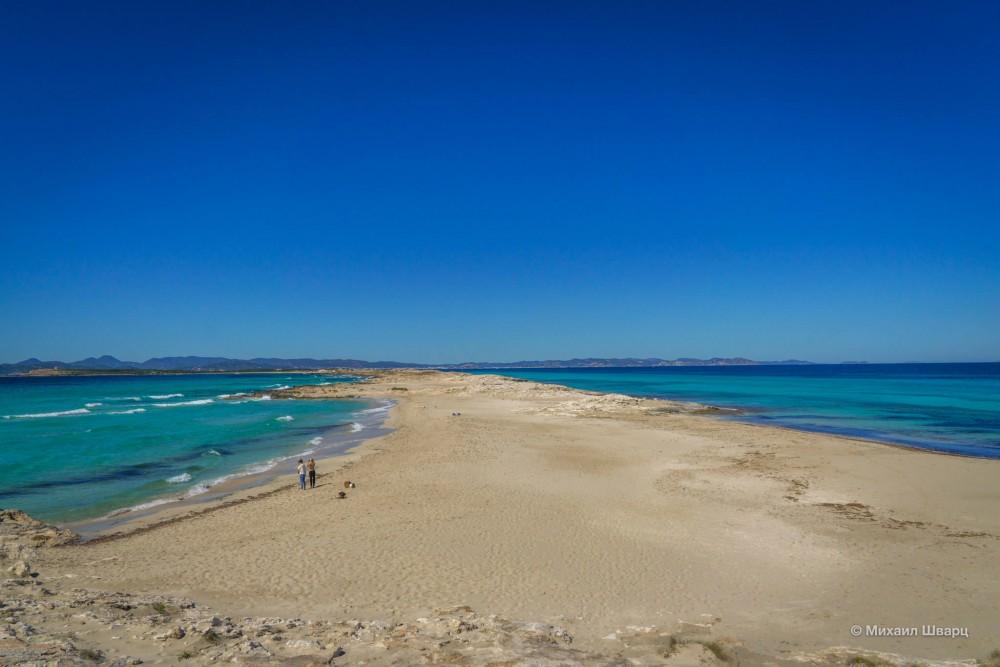 Пляж Сес-Ильетас