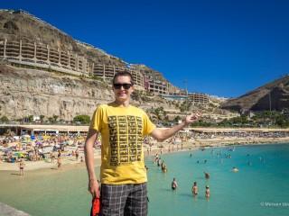 Пляжи Гран-Канарии