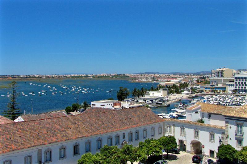 Город Faro, Португалия