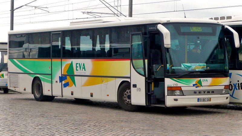 Междугородние автобусы компании EVA Transportes