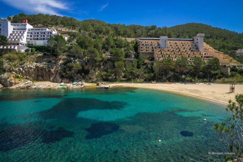 Пляж Cala Sant Miquel