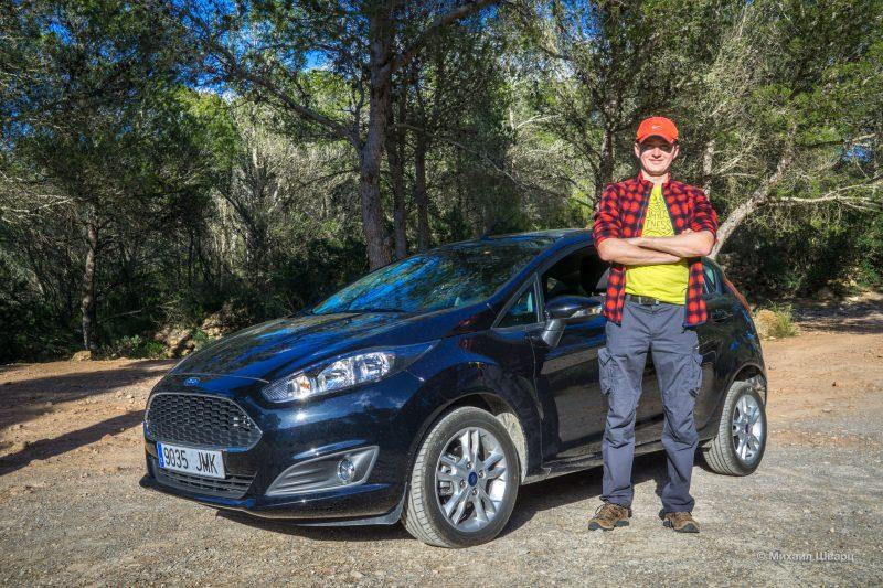 Дали новенький Ford Fiesta