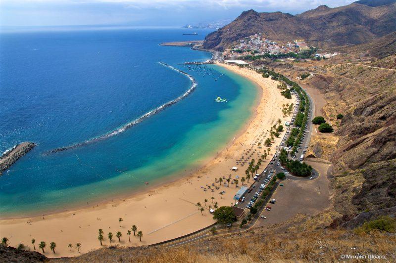 Пляж рядом с Санта-Крус-де-Тенерифе