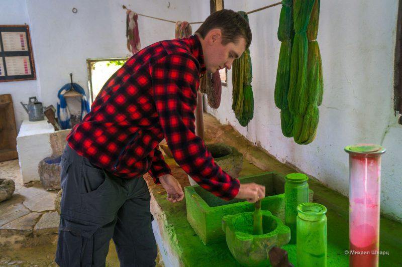 Крашу в сельском музее La Granja