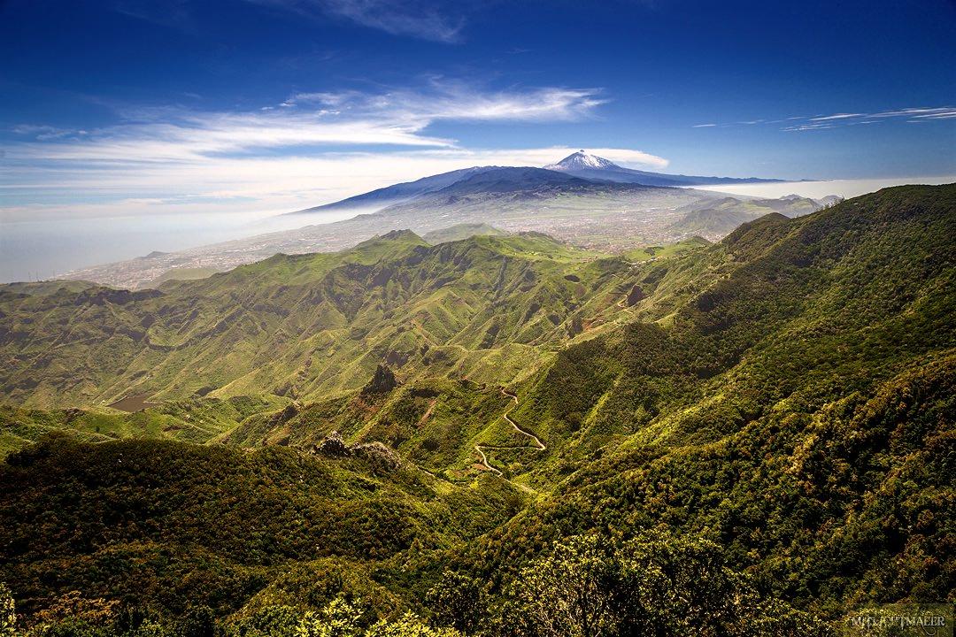 Центральная часть Тенерифе и вершина Тейде (фото: Hagen Naumann)