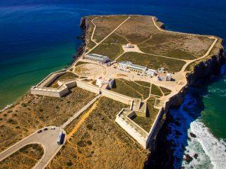 Португалия день 3. Крепости Алежур и Сагреш, Мыс Сан-Висенти