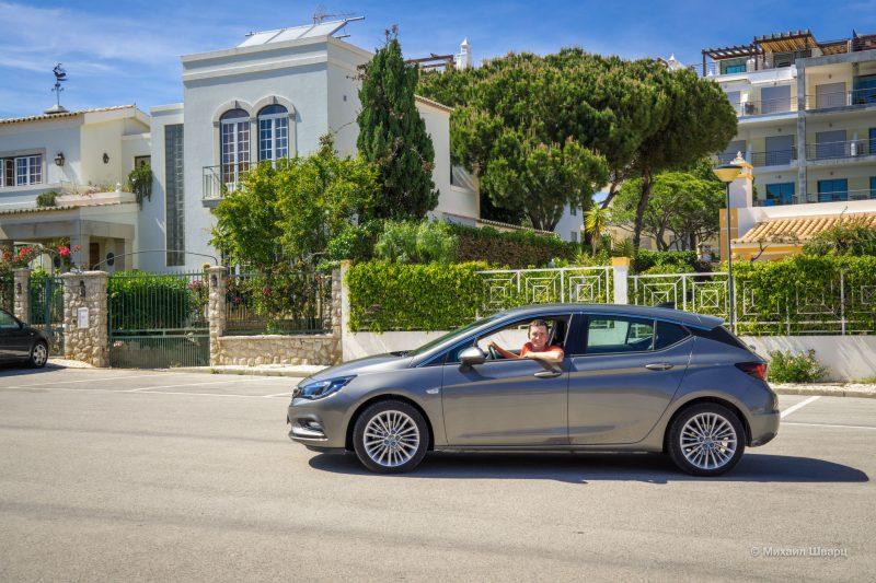 Арендовали Opel Astra в Фару
