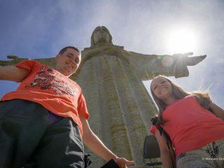 Португалия день 4. Крепость Палмела и статуя Иисуса в Лиссабоне