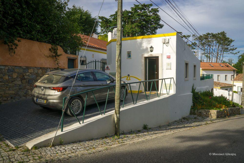 Есть свое парковочное место