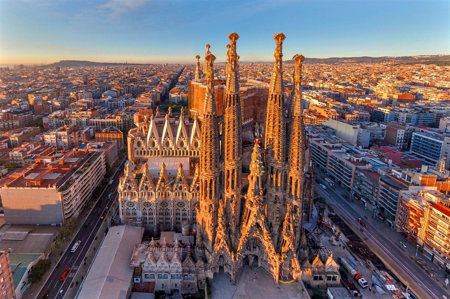 Неделя в Барселоне!