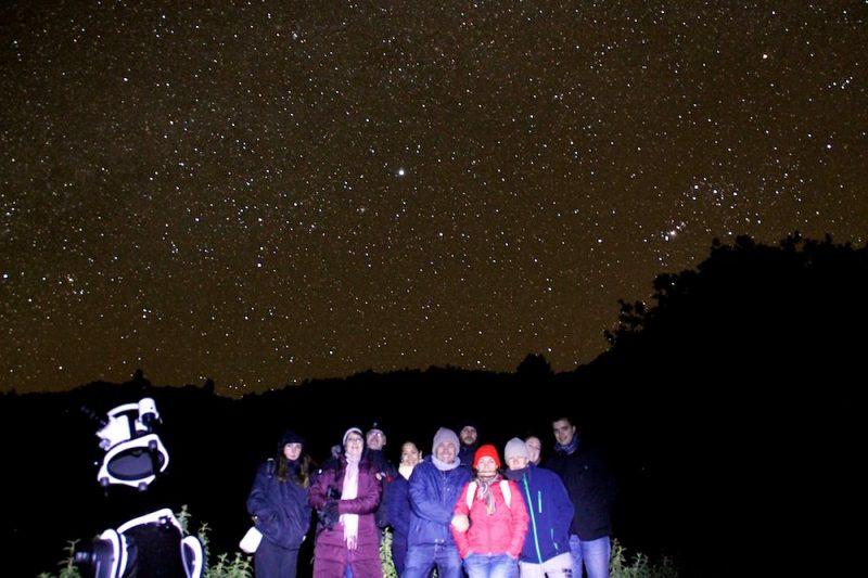Провести ночь под звездным небом