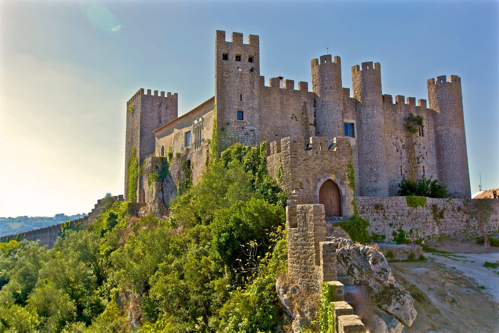Замок Обидуш – «город Королев» (фото: Francisco Aragão)