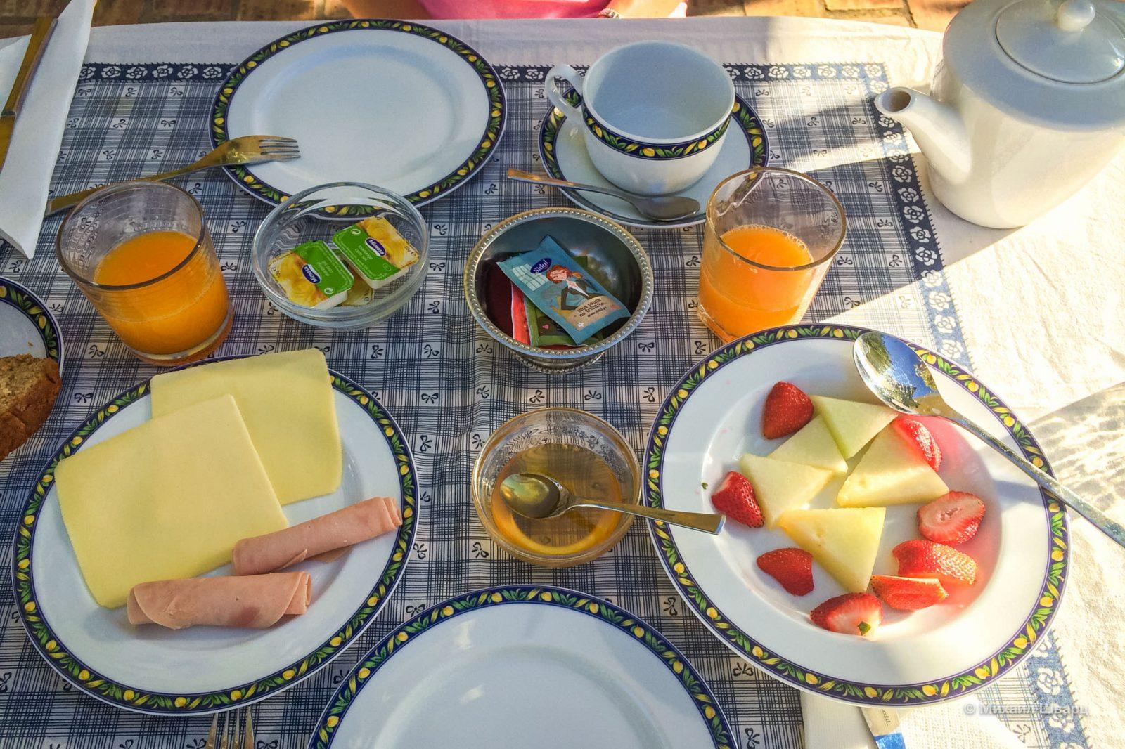 Отличный завтрак