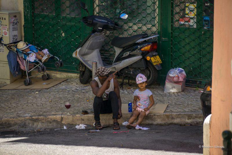 уличные истории Лиссабона