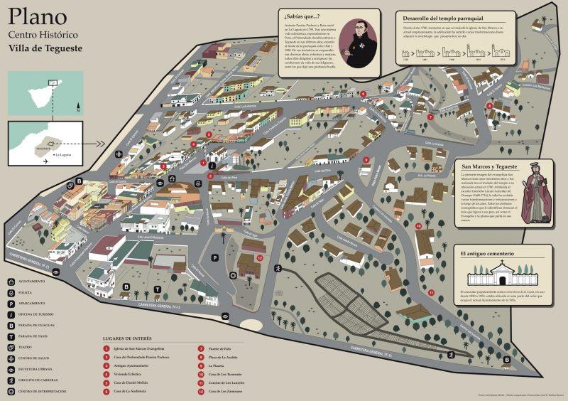 Карта Тегесте