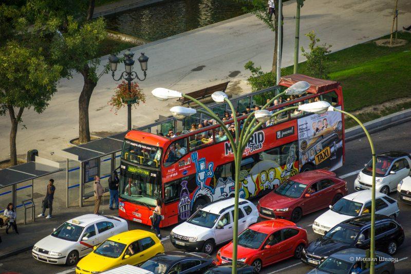 Туристический автобус Madrid City Tour
