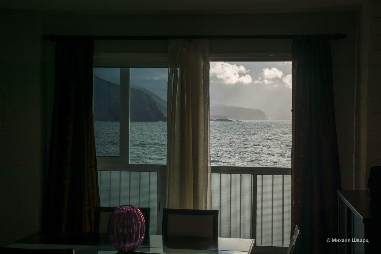 Вид из гостиной