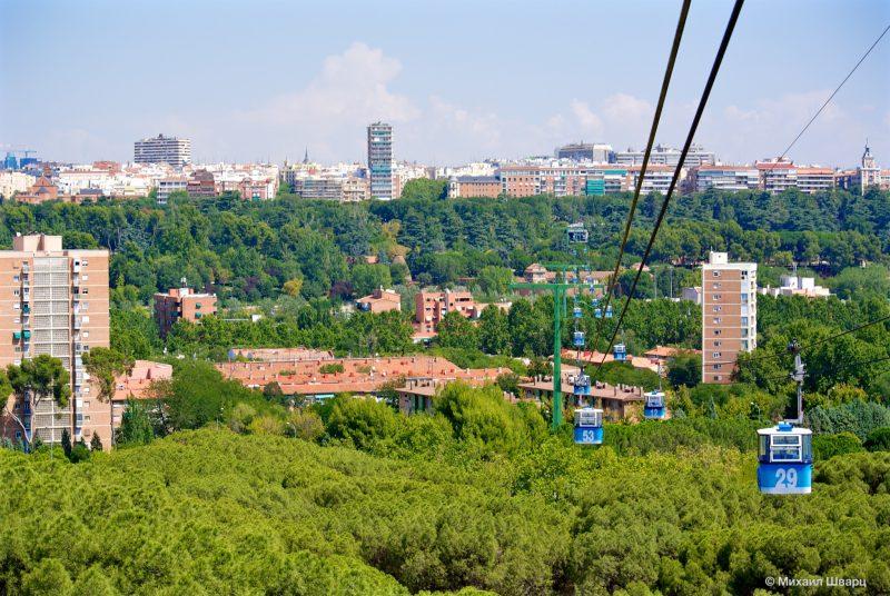 Канатная дорога Мадрида