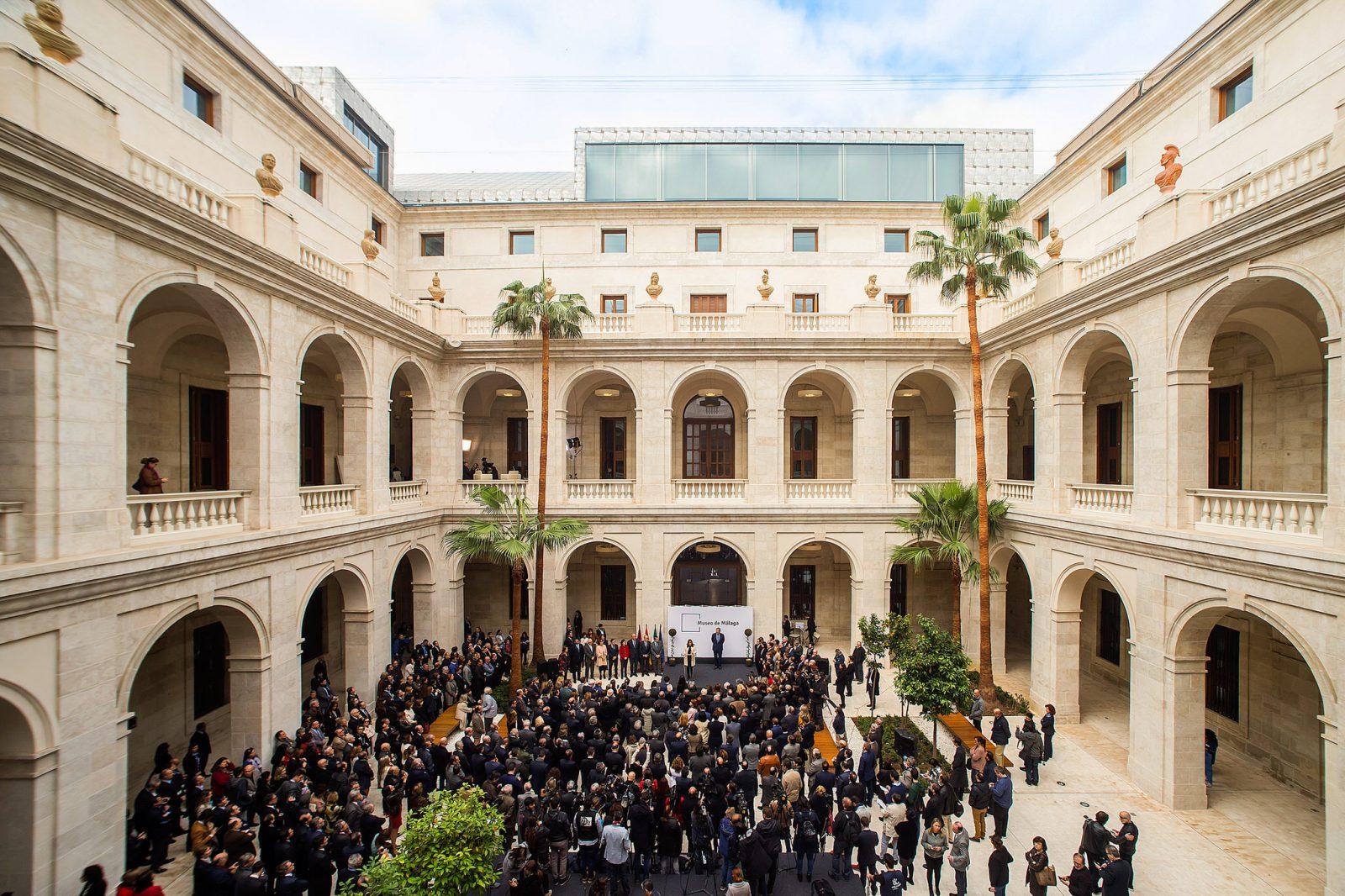 Открытие музея во дворце Адуана (фото: Junta de Andalucía)