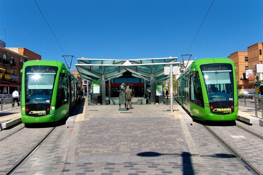 Трамвай Tranvía de Parla