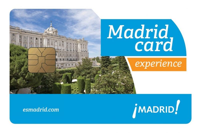 Мадридская туристическая карта Madrid Card