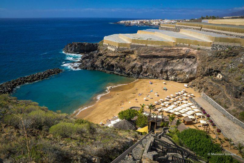 Элитный пляж Playa de Abama