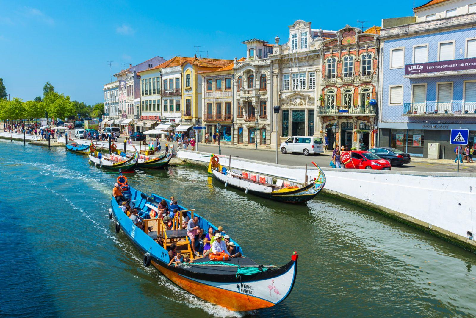 Авейру Aveiro – португальская Венеция