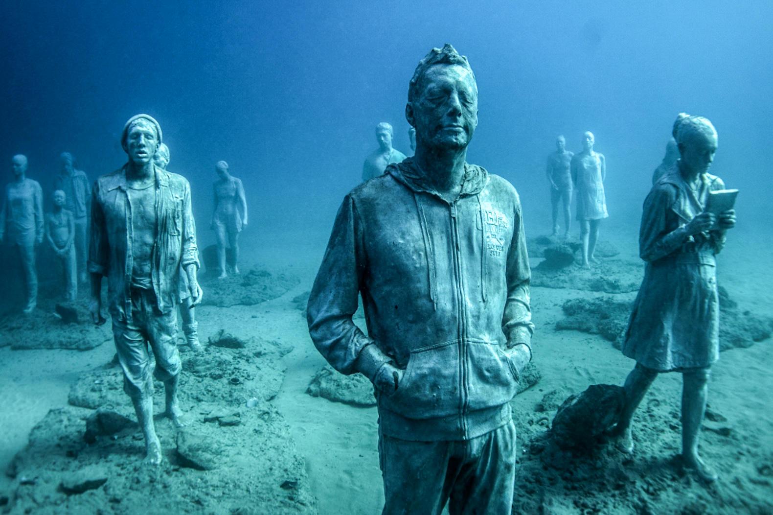 Подводный музей Атлантики на Лансароте