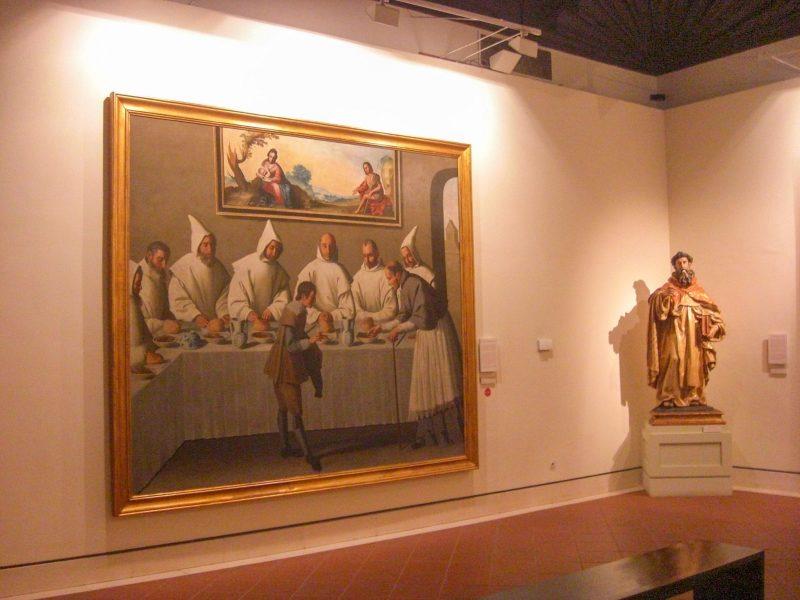 Франсиско Сурбаран. Чудо святого Гуго Гренобльского в трапезной монастыря