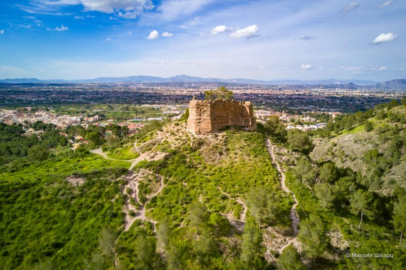 Руины крепости Castillo de La Luz