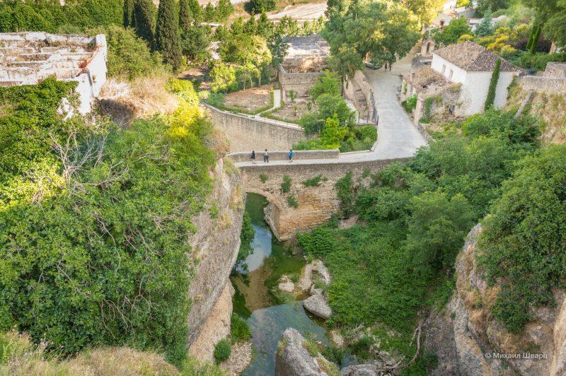 Вид на Арабские бани со Старого моста