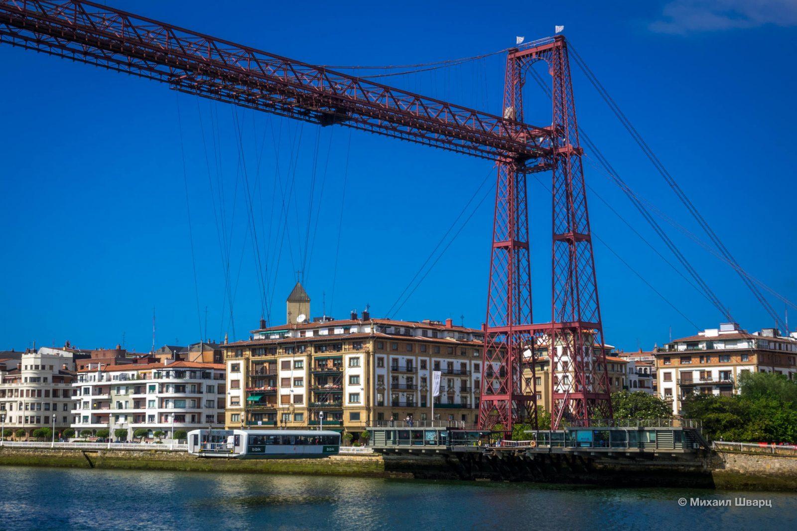 Подвесной мост, Бильбао