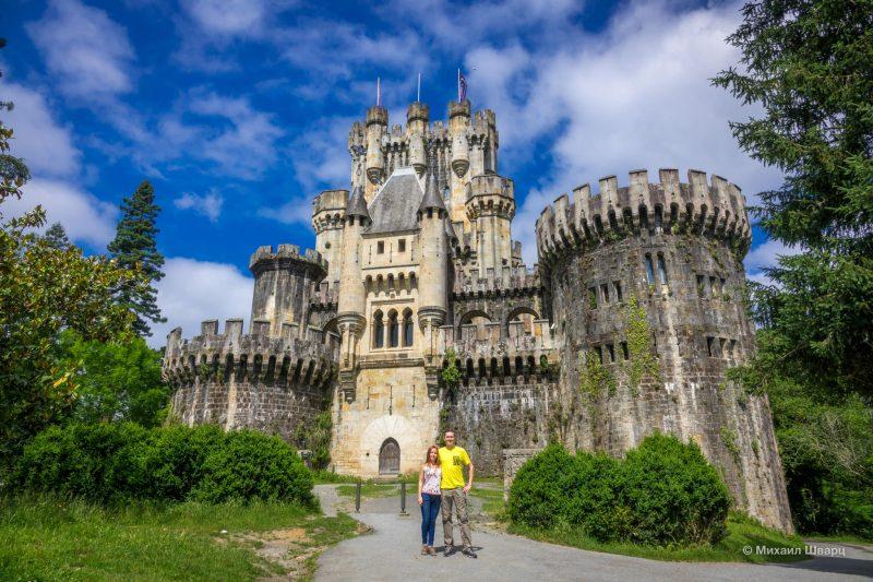 Живописный замок Butrón